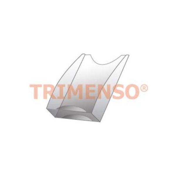 Transparentes Prospektfach DIN A4
