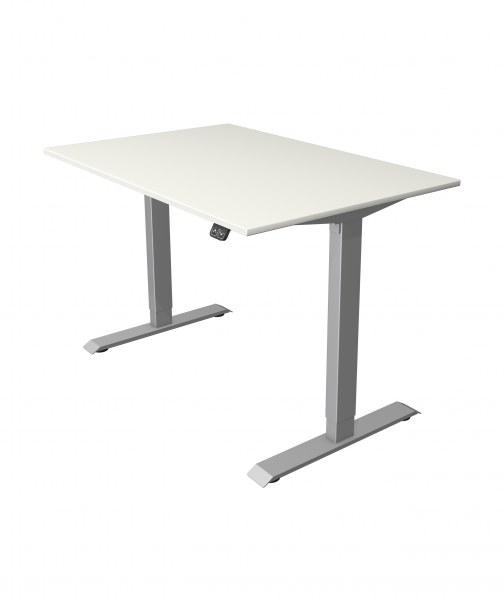 Elektrisch höhenverstellbarer Schreibtisch und Bürotisch