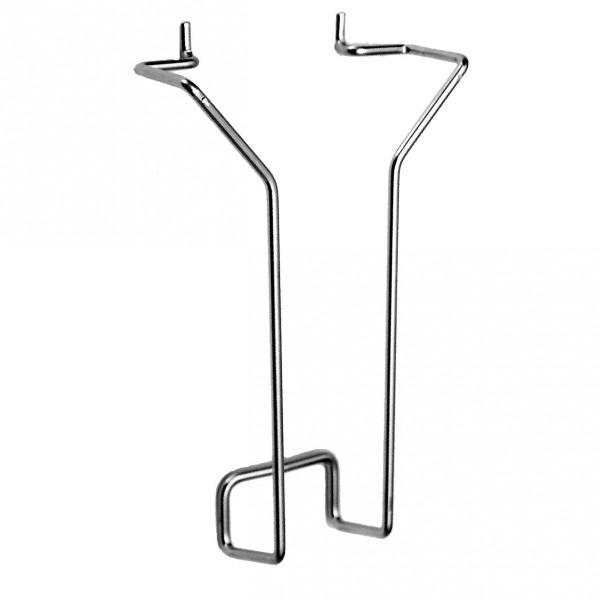 Prospekthalter (Metallbügel) für DIN lang