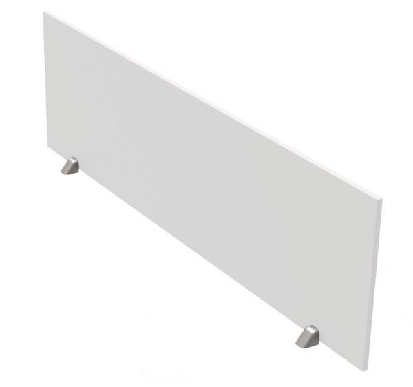 Tischtrennwand weiss B 160 x H 45 cm