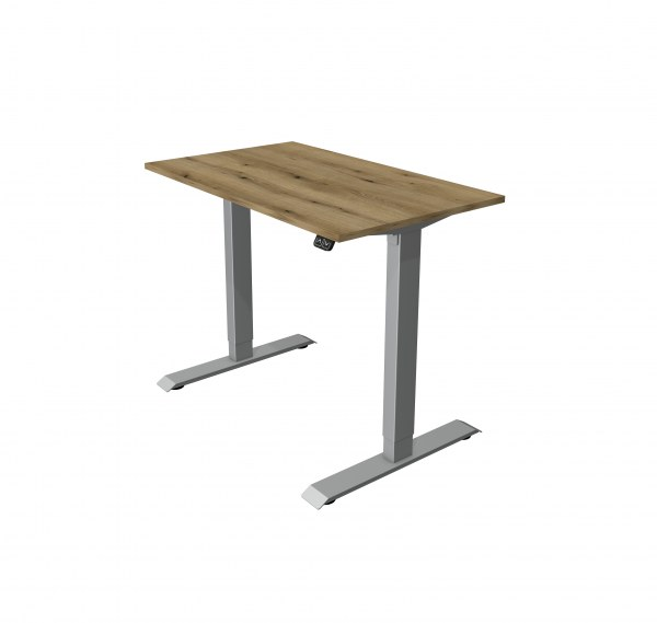 Schreibtisch elektrisch hohen- verstellbar 100 x 60 cm